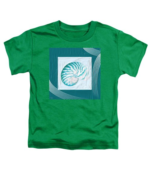 Turquoise Seashells Xxi Toddler T-Shirt