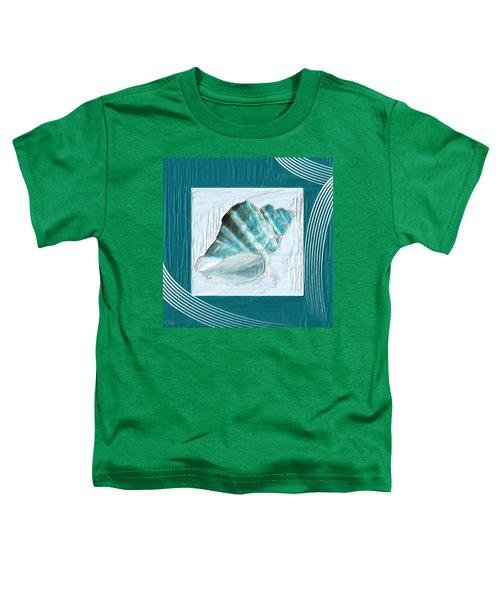 Turquoise Seashells Xxii Toddler T-Shirt