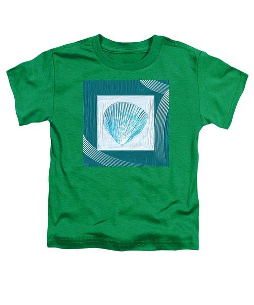 Turquoise Seashells Xxiii Toddler T-Shirt