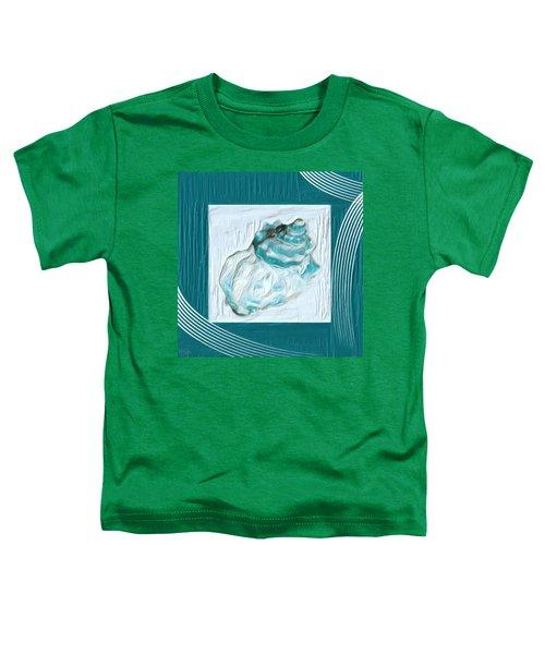 Turquoise Seashells Xxiv Toddler T-Shirt