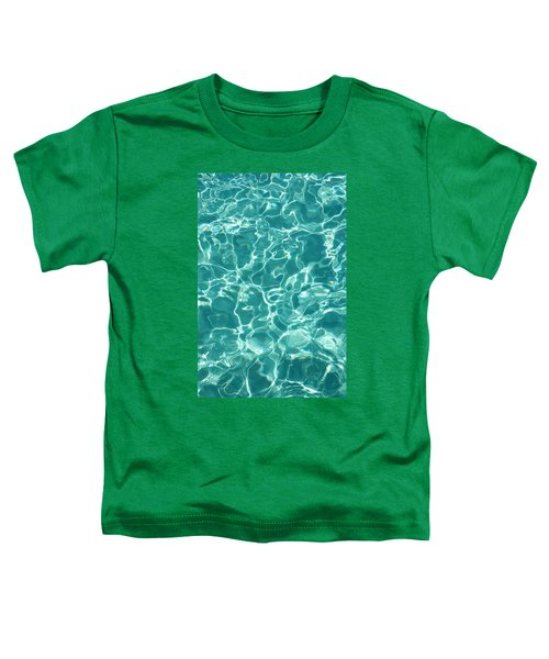 Water Meditation I. Five Elements. Healing With Feng Shui And Color Therapy In Interior Design Toddler T-Shirt