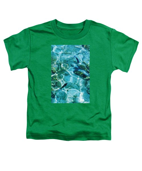 Water Meditation II. Five Elements. Healing With Feng Shui And Color Therapy In Interior Design Toddler T-Shirt