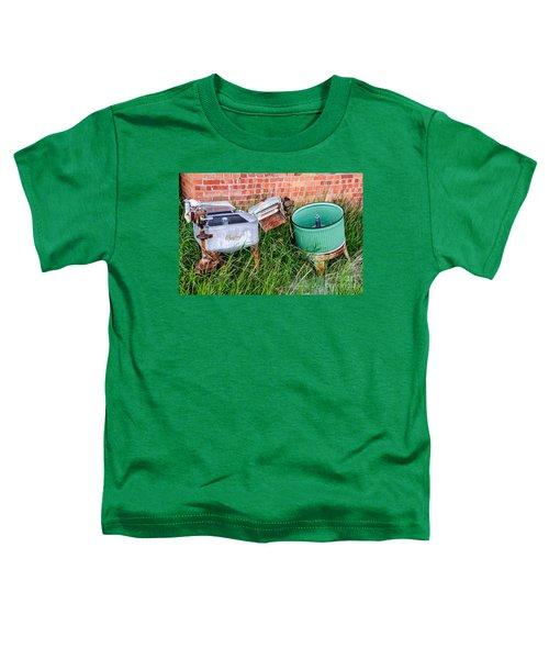 Wringer Washer And Laundry Tub Toddler T-Shirt