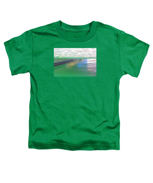 Toddler T-Shirt featuring the photograph Reflections by Nareeta Martin