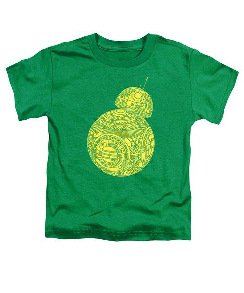 Bb8 Droid - Star Wars Art, Yellow Toddler T-Shirt