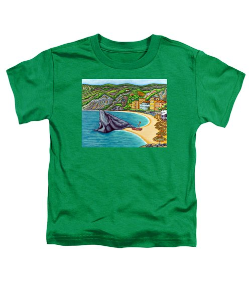 Colours Of Monterosso Toddler T-Shirt