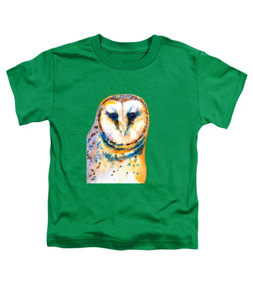 Gorgeous Barn Owl Toddler T-Shirt