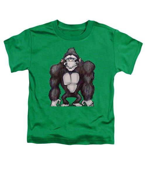 Gorilla Toddler T-Shirt by Kevin Middleton