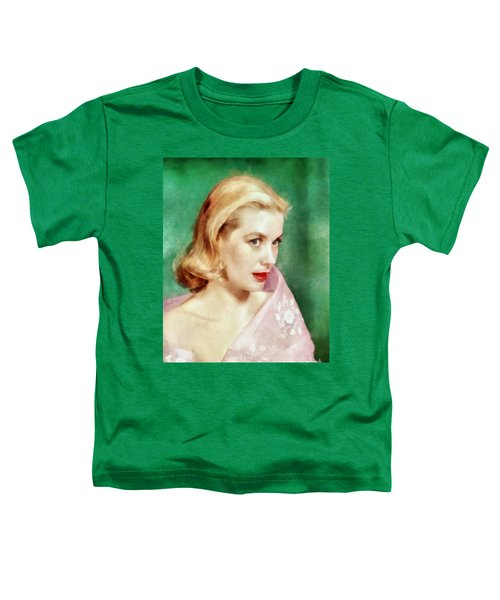 Grace Kelly By John Springfield Toddler T-Shirt