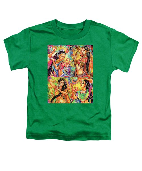 Magic Of Dance Toddler T-Shirt by Eva Campbell