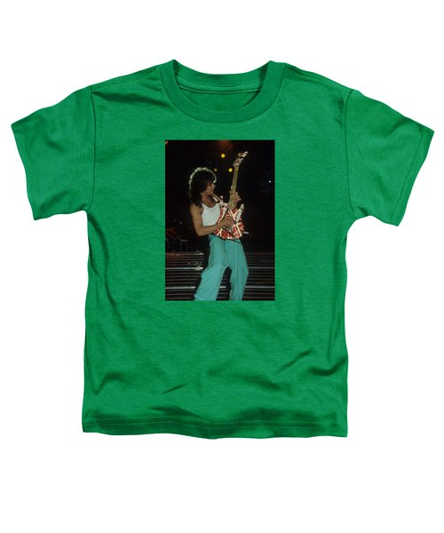 Eddie Van Halen Toddler T-Shirt