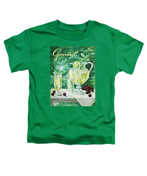 A Gourmet Cover Of Glassware Toddler T-Shirt