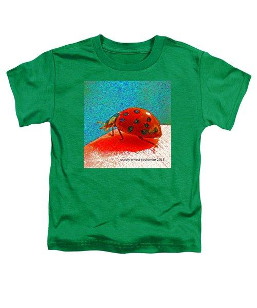 A Spring Lady Bug Toddler T-Shirt