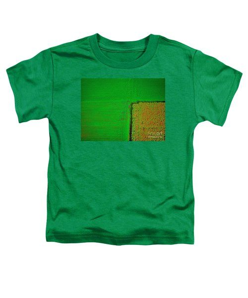 Aerial Farm Mchenry Il  Toddler T-Shirt