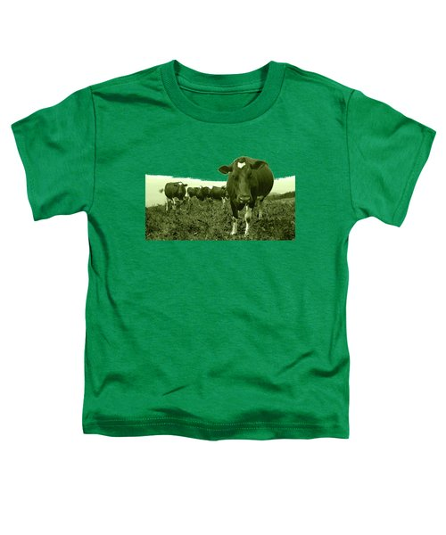 Annoyed Cow Toddler T-Shirt