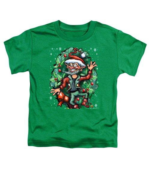 Christmas Elf Toddler T-Shirt