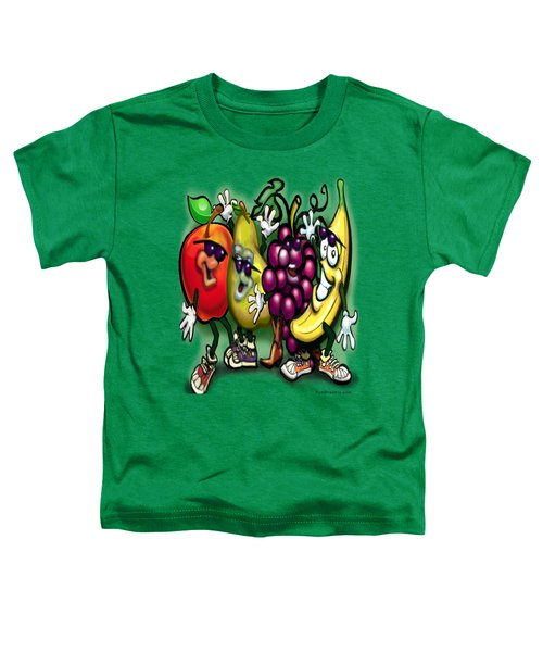 Fruits Toddler T-Shirt by Kevin Middleton