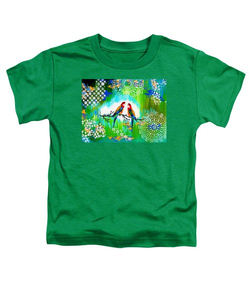 Australian Toddler T-Shirt by Cathy Jacobs