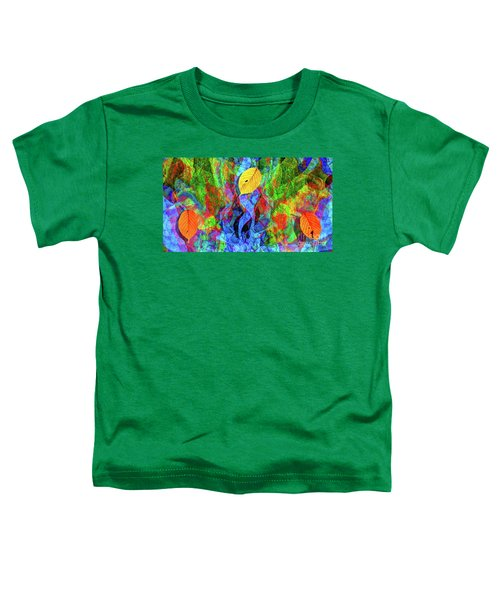 Autumn Leaves Abstract Toddler T-Shirt