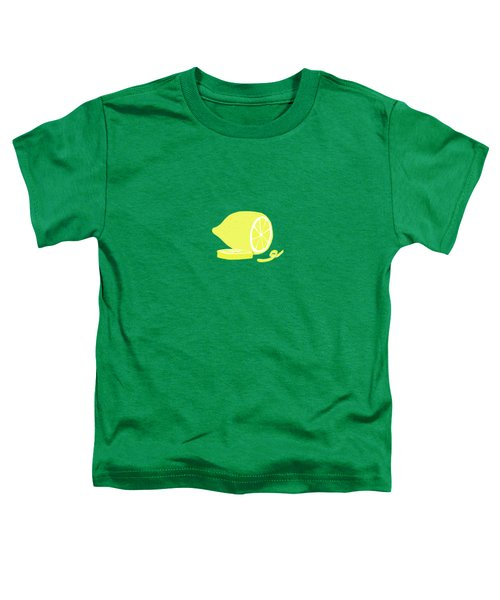 Big Lemon Flavor Toddler T-Shirt