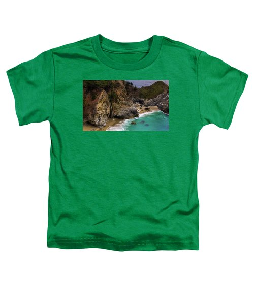 Big Sur Waterfall Toddler T-Shirt