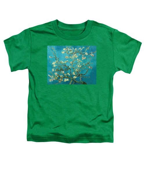 Toddler T-Shirt featuring the painting Blossoming Almond Tree by Van Gogh