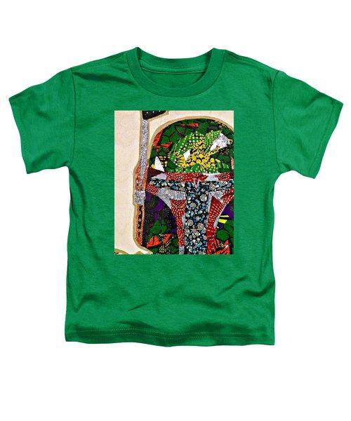 Boba Fett Star Wars Afrofuturist Collection Toddler T-Shirt