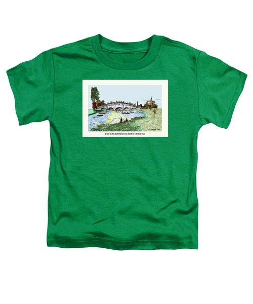 Busy Richmond Bridge Toddler T-Shirt