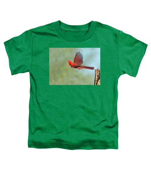 Cardinal On A Mission Toddler T-Shirt