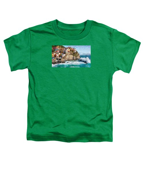 Cinque Terre - Italy Toddler T-Shirt