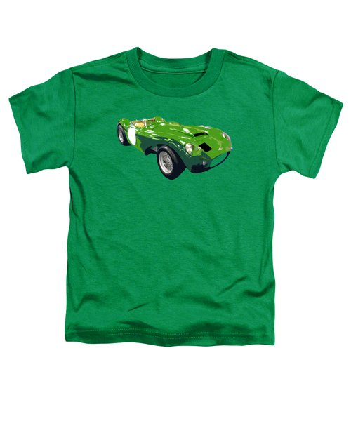 Classic Sports Green Art Toddler T-Shirt