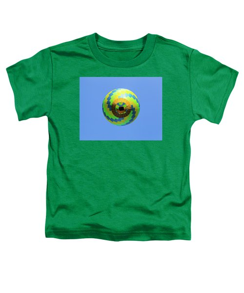 Colorful Abstract Hot Air Balloon Toddler T-Shirt