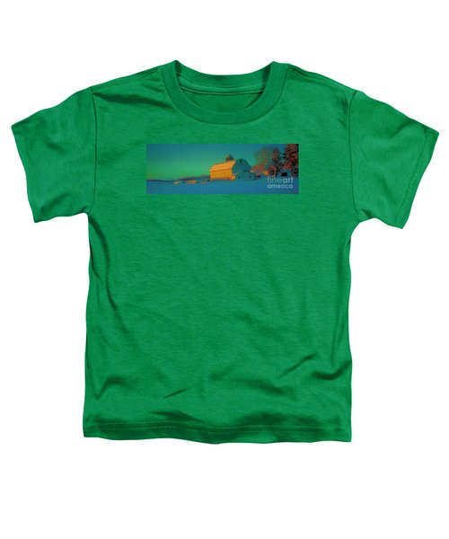 Conley Rd White Barn Toddler T-Shirt