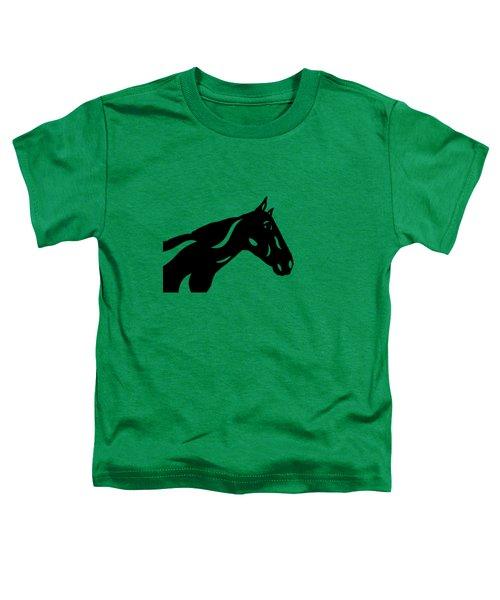 Crimson - Abstract Horse Toddler T-Shirt