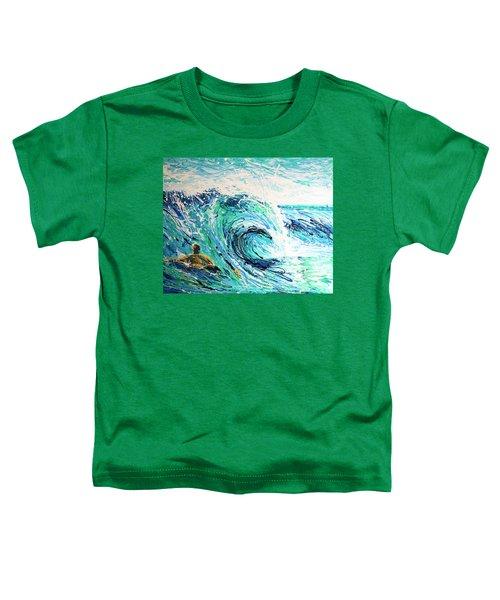 Crossing The Sandbar Toddler T-Shirt