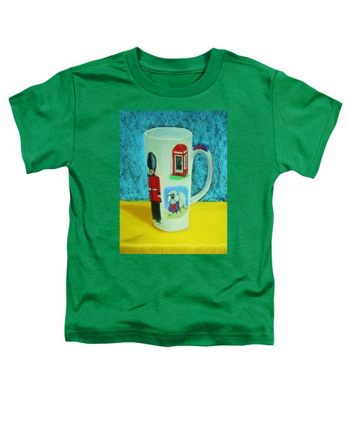 Cup Of London Java Toddler T-Shirt