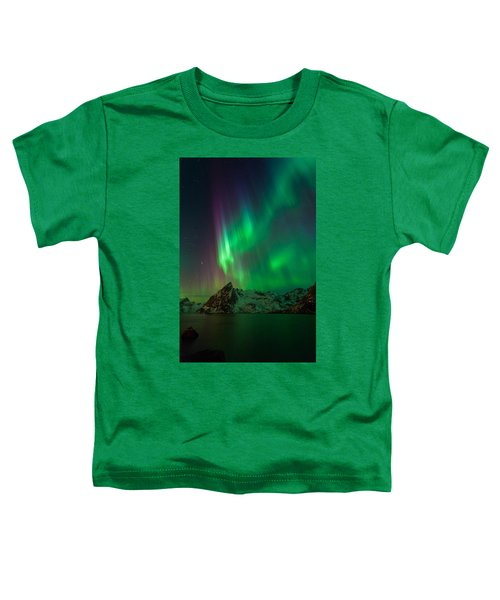 Curtains Of Light Toddler T-Shirt