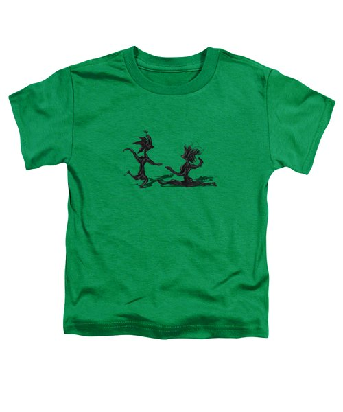 Dancing Couple 9 Toddler T-Shirt