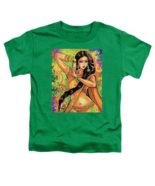 Dancing Nithya Toddler T-Shirt by Eva Campbell