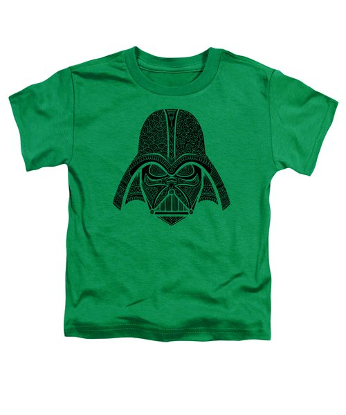 Darth Vader - Star Wars Art - Blue Black Toddler T-Shirt