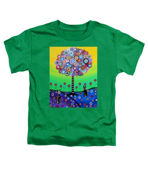 Day Of The Dead Cat'slife Toddler T-Shirt