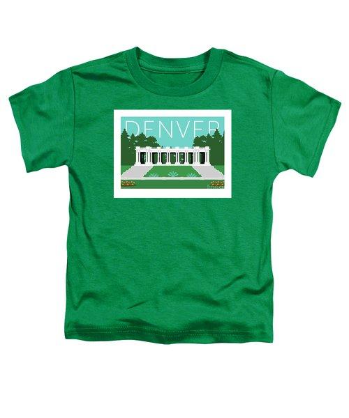 Denver Cheesman Park/lt Blue Toddler T-Shirt