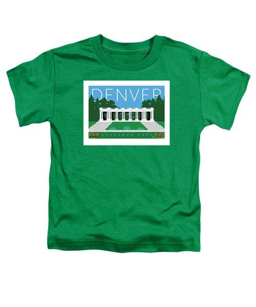 Denver Cheesman Park Toddler T-Shirt