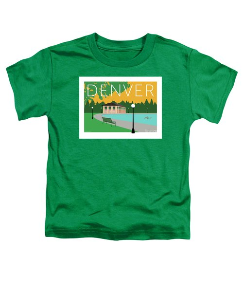 Denver Washington Park/gold Toddler T-Shirt