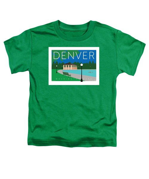 Denver Washington Park Toddler T-Shirt