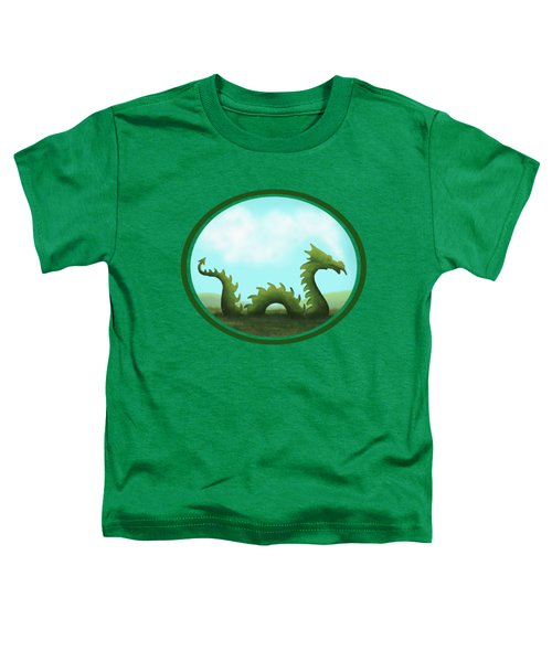 Dream Of A Dragon Toddler T-Shirt by Little Bunny Sunshine