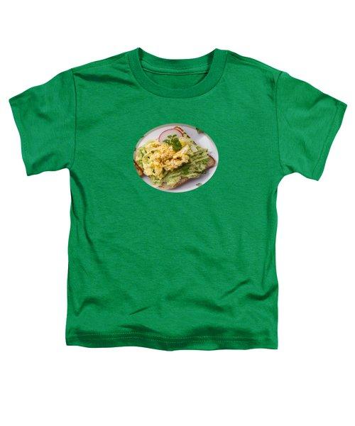 Egg Sandwich Toddler T-Shirt