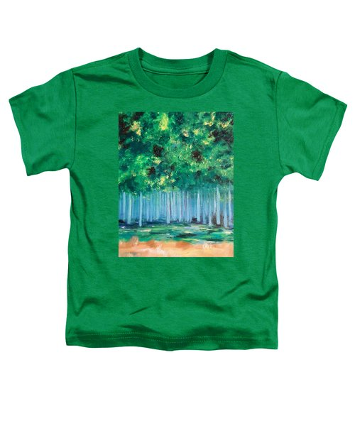 Enchanted Poplars Toddler T-Shirt