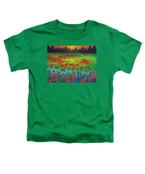 Evening Poppies Toddler T-Shirt