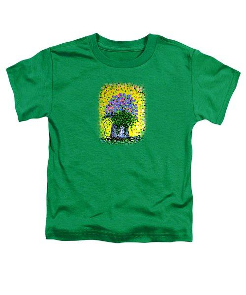 Explosive Flowers Toddler T-Shirt by Alan Hogan